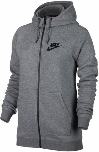 47370b392d6 Nike Sportswear Mikina s kapucí  PALLY HOODIE  šedá - Glami.cz