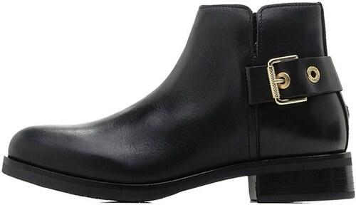 Tommy Hilfiger dámské černé kotníkové boty - Glami.cz af8899ceb61
