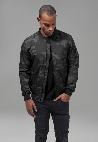 Urban Classics 2 Light Camo Bomber Jacket darkcamo - Glami.sk 8640d3d7099