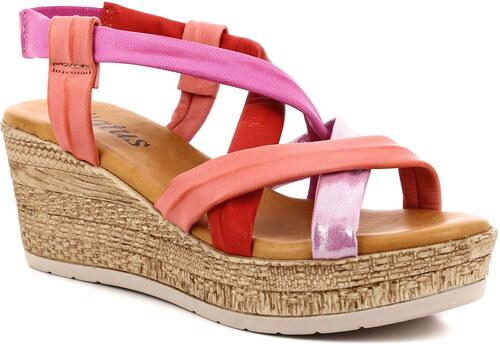 23b457439735 Dámske kožené sandále Status - Glami.sk