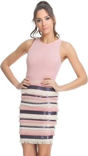 Chic by Tantra Dámské šaty DRESS3462 Pink - Glami.cz 06d695dd74