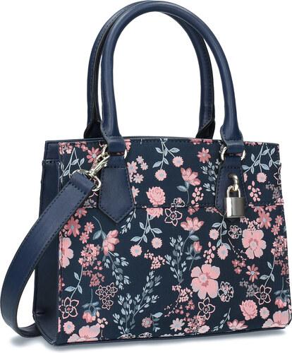 2618025089 Bata Red Label Modrá kabelka s kvetinovým vzorom - Glami.sk