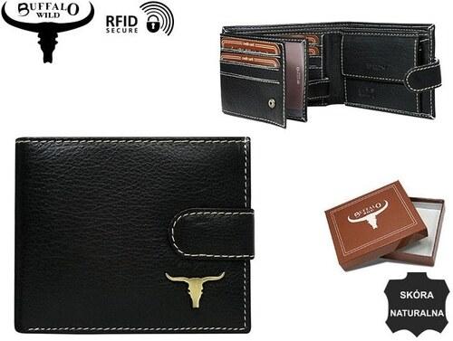 cda4442a1 Moderná čierna pánska peňaženka Buffalo Wild - Glami.sk
