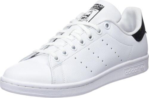 adidas Stan Smith J 206, Baskets Mixte Adulte, Ecru Blanc Noir