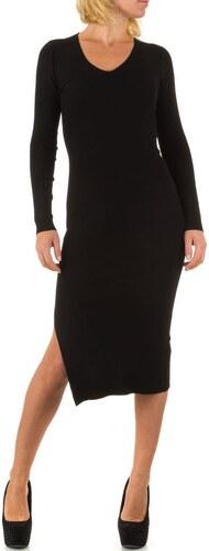 Černé svetrové šaty pro pro moderní ženu - Glami.cz 1805f71ebb