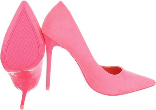 Růžové lodičky pro moderní ženu na ples - Glami.cz 890a55c330