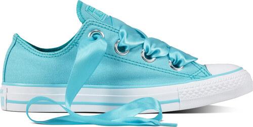 6378b50af1b -5% Converse modré dámské nízké tenisky Chuck Taylor All Star se saténovými  tkaničkami - 36