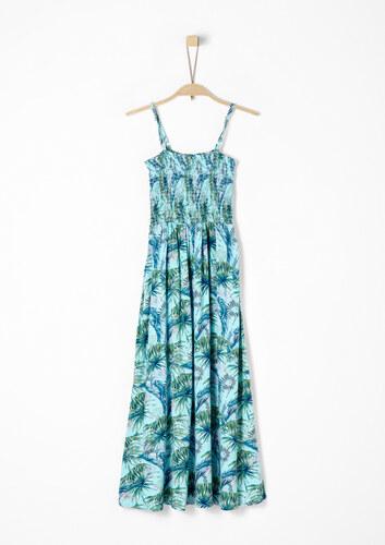 s.Oliver Maxi šaty s exotickým potiskem - Glami.cz 67a3424e49e