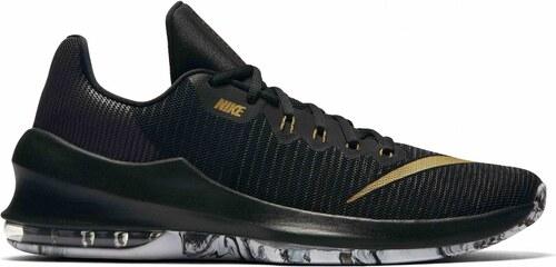 c3f92209552f0 Pánské Basketbalové boty Nike AIR MAX INFURIATE 2 LOW BLACK/METALLIC  GOLD-ANTHRACITE