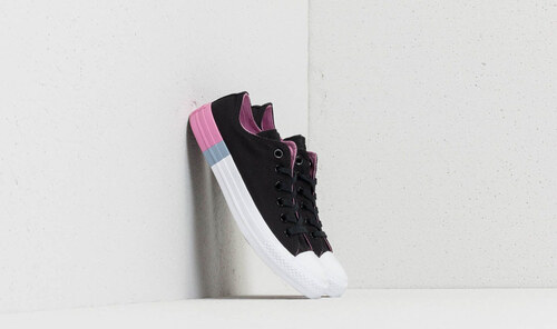 Converse Chuck Taylor All Star OX Black  Light Orchid  White - Glami.sk 3175220708f