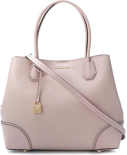 Kabelka Michael Kors Mercer gallery large leather tote soft pink ... cf938143ece