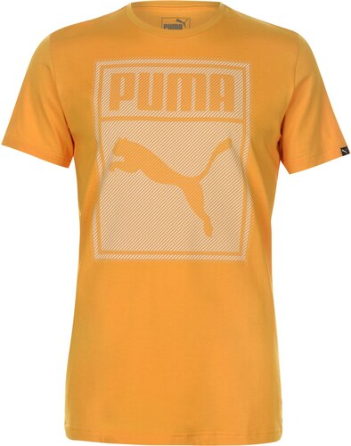 Triko Triko Puma Box QT T Shirt pánské Yellow - Glami.sk e364906e60