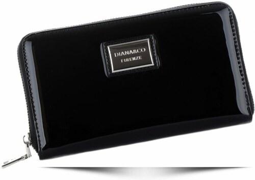 de2ae53ee0e Dámská peněženka XXL Diana Co Firenze lak černá - Glami.cz