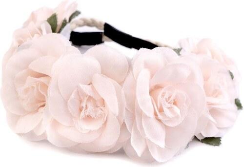 Cixi Květinová čelenka do vlasů Růžové růže - Glami.cz 93d733d4ea