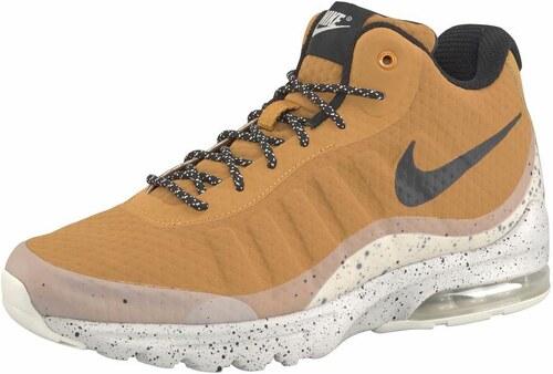 Nike Sportswear Kotníkové tenisky  Air Max Invigor Mid  koňaková   černá    bílá f07c97fe7b4
