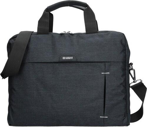11b3f04bdd Pánská taška přes rameno Enrico Benetti Oktavius - černá - Glami.cz