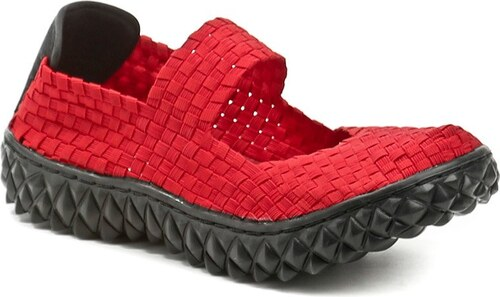 59550fc566b Rock Spring OVER červená dámská gumičková obuv - Glami.cz