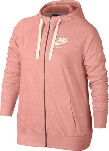 Nike W Nsw Gym Vntg Hoodie Fz ružová XS - Glami.sk 9644f9b2b01