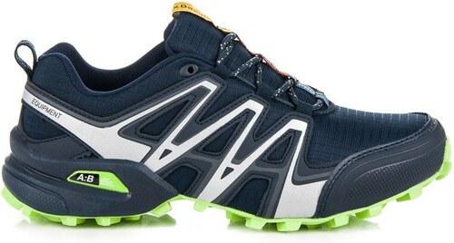 4b39aa2e30602 AX BOXING Športové modré pánske trekové topánky - Glami.sk