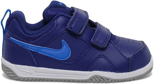 uk availability 1a639 c803b Basket Nike scratch cuir bleue garçon