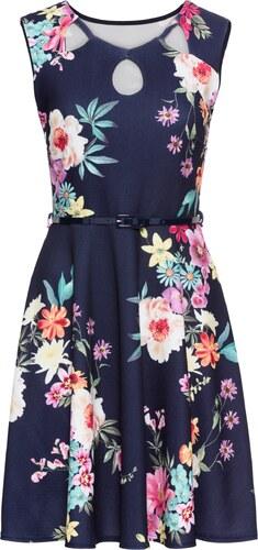 bonprix Žerzejové šaty s květinovým potiskem - Glami.cz f4f979e045