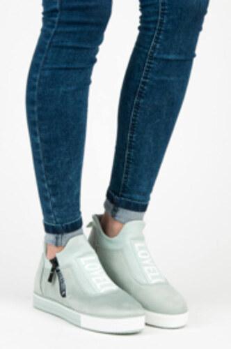 IDEAL zöld hasított bőr hatású cipő - Glami.hu f61e97722a