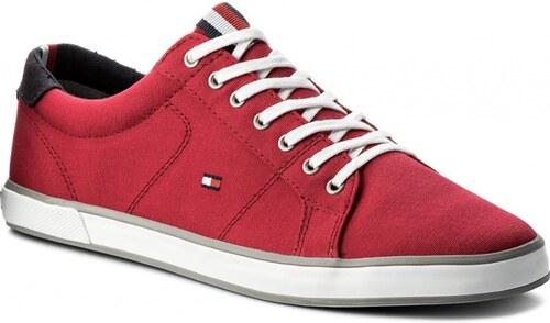 Tommy Hilfiger piros férfi tornacipô Iconic Long Lace Sneaker Tango ... 8eb2a968da
