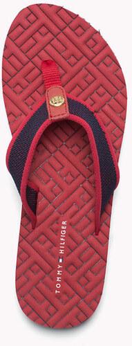 50754336e0 Tommy Hilfiger dámské červené žabky - Glami.sk