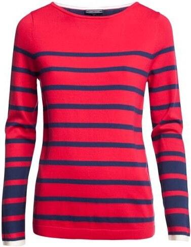 TOMMY HILFIGER női csikos nyári pulóver - Glami.hu d7013f8cd7