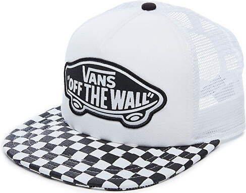 VANS Dámska šiltovka Beach Girl Trucker Hat Black White Checkerboard  VOOH5L56M b523be7a325