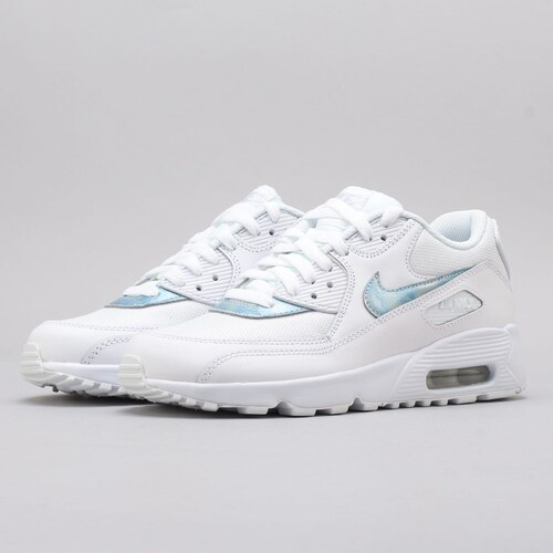 newest c8498 ba9c9 Nike Air Max 90 Mesh (GS) white   royal tint - white