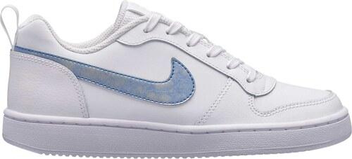 Dětské tenisky Nike COURT BOROUGH LOW (GS) WHITE ROYAL TINT-WHITE ... 8c1aa10f290