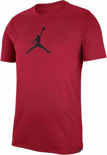 Pánské Tričko Jordan M JMTC TEE 23 7 JUMPMAN GYM RED BLACK - Glami.cz 87881f2f255