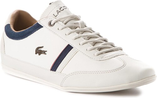 Sneakersy LACOSTE - Misano 118 2 Cam 7-35CAM0081WN1 Off White Navy ... d9b6beef909
