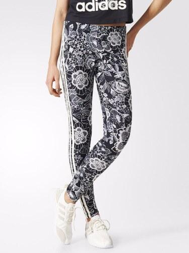 Adidas Originals Legíny Florido 3-Stripes černá - Glami.cz 201a33d7e3