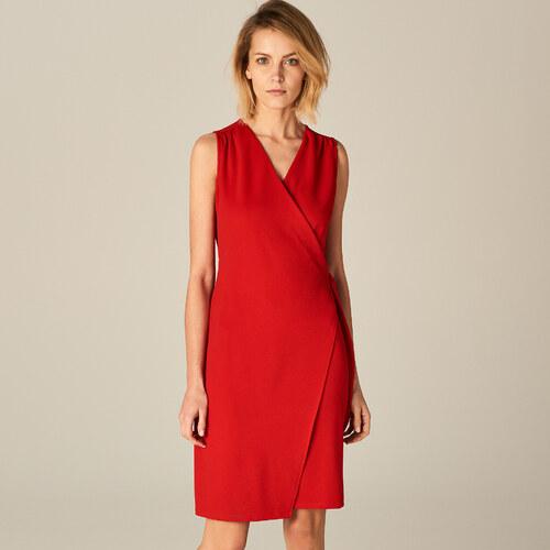 Mohito - Piros átlapolt ruha - Piros - Glami.hu 2758536237