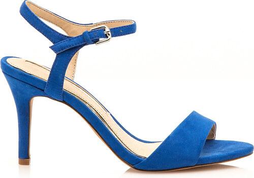 975eecb37d Modré sandály na jehlovém podpatku Maria Mare - Glami.cz