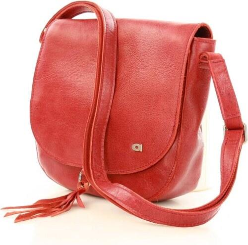 bőrből borítéktáska üzleti táska FUNKY GO! 33 piros - Glami.hu 214df30b43