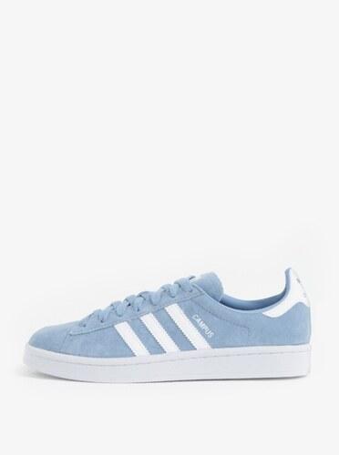 adidas Originals Světle modré dámské semišové tenisky Originals Campus 68be6d8478