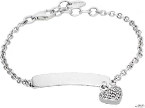 Espritgyerek medál-karkötő 925 ezüst ezüst szerelem név ESBR91175A135 855abf2b05