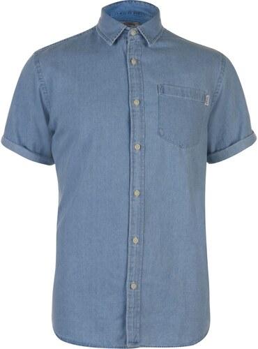 Košile pánská Jack and Jones Originals Malone Lt Blue Den - Glami.cz fd69c012ee