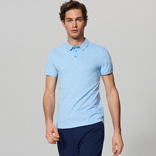Reserved - Pöttyös póló - Kék 9b1777c5e0