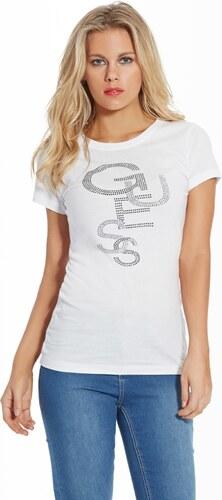 Dámské tričko Guess Lex Tee - Glami.sk 98ebb3ceb44