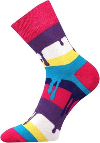 Lonka Růžové pánské ponožky COLOR - Glami.cz 4201c2e1a4
