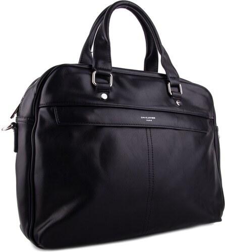 aa2c51d3a2 David Jones Černá pánská taška přes rameno na notebook Bratel - Glami.sk