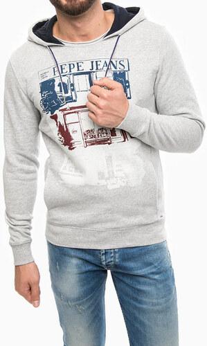 d332914f01 Pepe Jeans pánska šedá mikina - Glami.sk