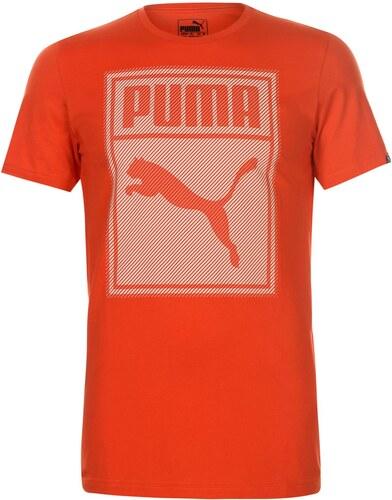 Tričko pánské Puma Box QT Orange - Glami.cz 813567708b