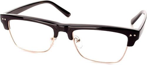 Čiré nedioptrické černé brýle Shape - Glami.cz 7c1e48d4394