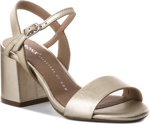 Sandále BRONX - 84495-G BX 1254 Pale Gold 116 - Glami.sk e467d32eb4a