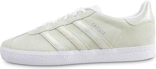 adidas Baskets/Streetwear/Tennis Gazelle Junior Vert Et Iridescent Enfant